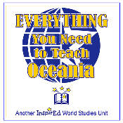 Everything You Need To Teach Oceania - 2011 edition