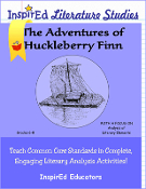 The Adventures of Huckleberry Finn - Novel Study Print Version