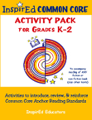 Anchor Reading Activity Pack K-2