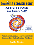 Anchor Reading Activity Pack 6-12