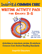 Anchor Writing Standards Grades 3-5 Print Version