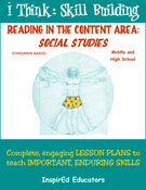 6301 Reading in the Content Area: Social Studies